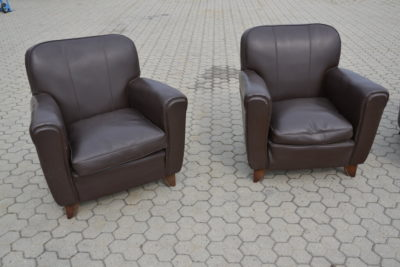 SET N° 4 POLTRONE CLUB CHAIR RIF . 6397