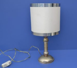LAMPADA - ABAT JOUR ARGENTO RIF. 6083